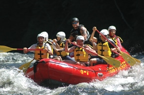 Maine whitewater rafting is some of the best in the nation!