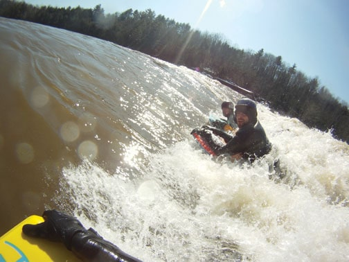 Try river surfing some Maine whitewater this summer!
