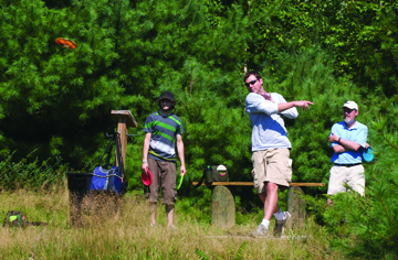 Go out and enjoy one of Maine's fastest growing sports: Disc Golf!