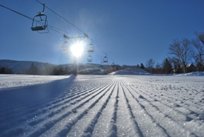 A perfect day for skiing!