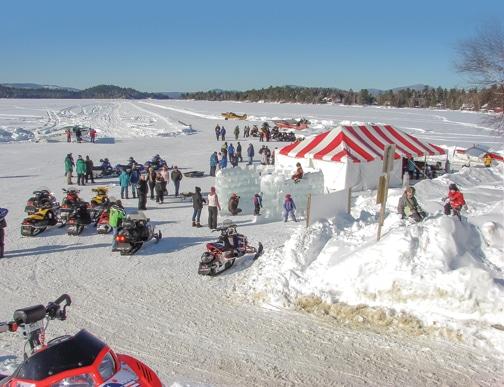 Celebrate winter in Rangeley, Maine