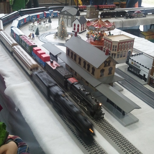Train race!