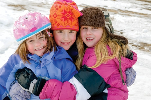 Get outside and be a winter kid this winter!