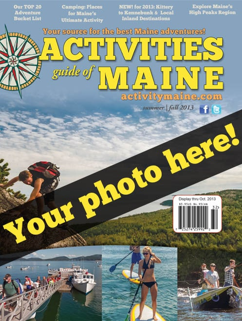 Enter your photo into the Activity Maine Cover Photo contest!