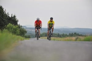 Biking in Aroostook County. Photo: John Hafford.