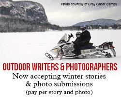 Outdoor writers and photographers: now accepting winter stories