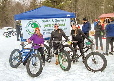 Green Machine fat bikes