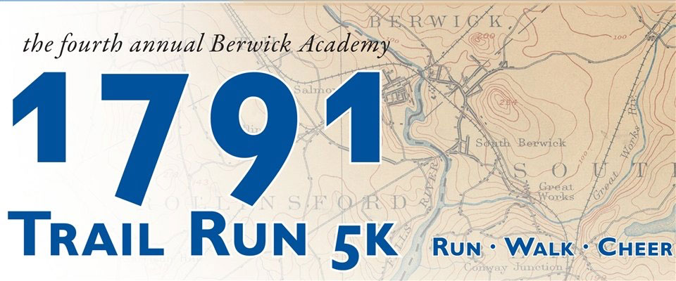 1791 Trail Run/Walk at Berwick Academy