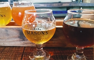 IPAs at Mason's Brewing Company