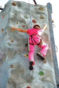 Rock Climber, Gary Curtis