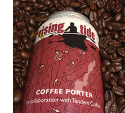Rising Tide's Coffee Porter beer