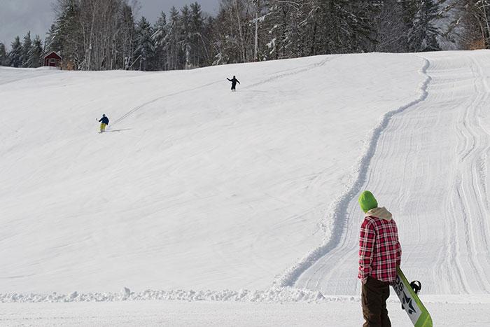 Snowboarding, UMaine Farmington