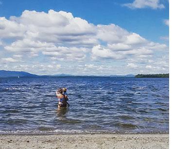 Lily Bay on Moosehead Lake