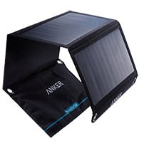 Summer camping gear wish list: Anker 15W Foldable Dual-Port Solar Charger