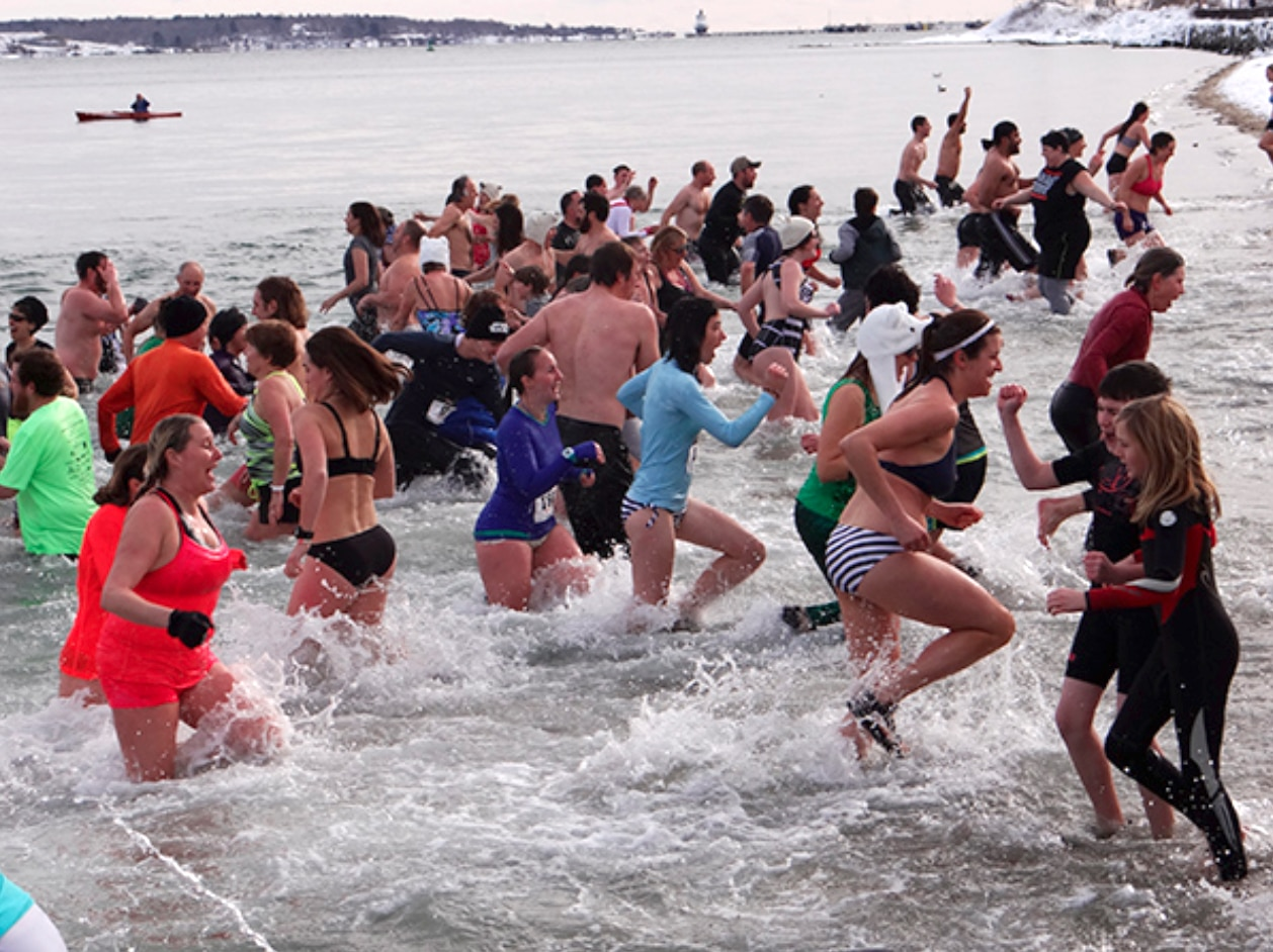Polar Bear Dip & Dash