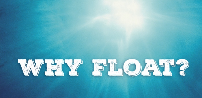 Floating is used for muscle recovery, relaxation, pain management, rest, mindfulness and more.