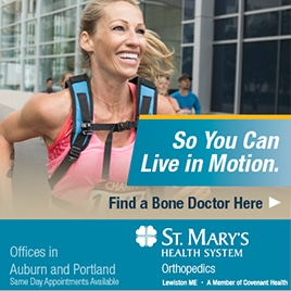 St. Mary's Orthopedics — So YOU Can Run in Motion
