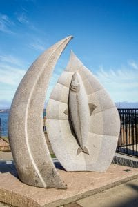 """Nature's Grace"" - the Maine Sculpture Trail"