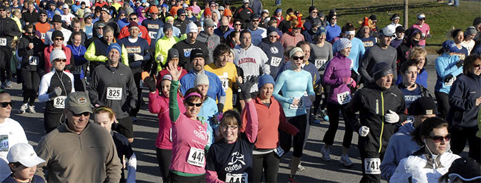 Maine Track Club's Turkey Trot 5k