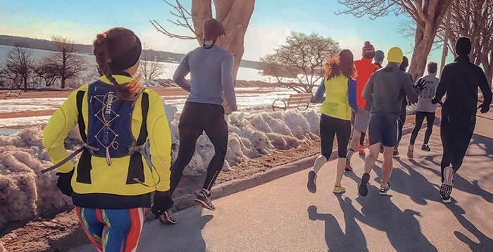 Join a group for Cold Weather Running, by Chelsea Patterson
