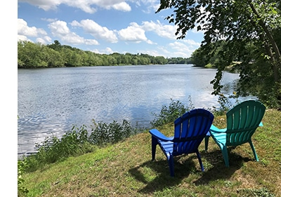Pretty view along the Stillwater River Trail. Photo: Carey Kish