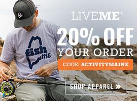 Get 20% off your order of LiveME apparel