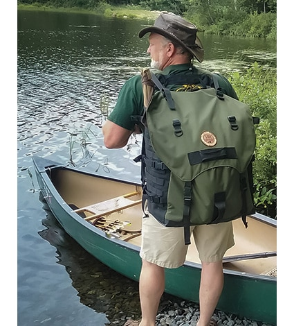 Canoe Expedition Portage Pack, Liberty Rogue Outdoors