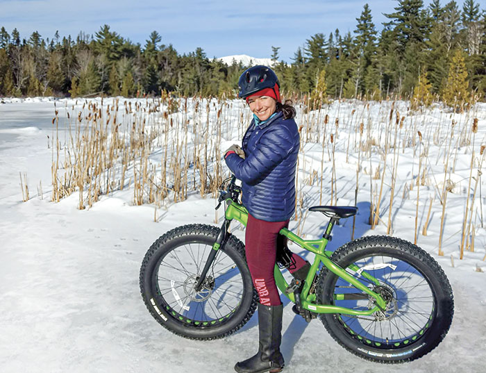Fat Biking in Northerm and Western Maine
