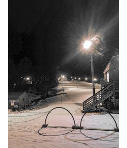 Night skiing at Shawnee Peak