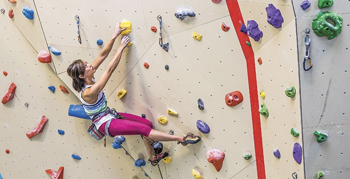 Salt Pump Climbing Gym