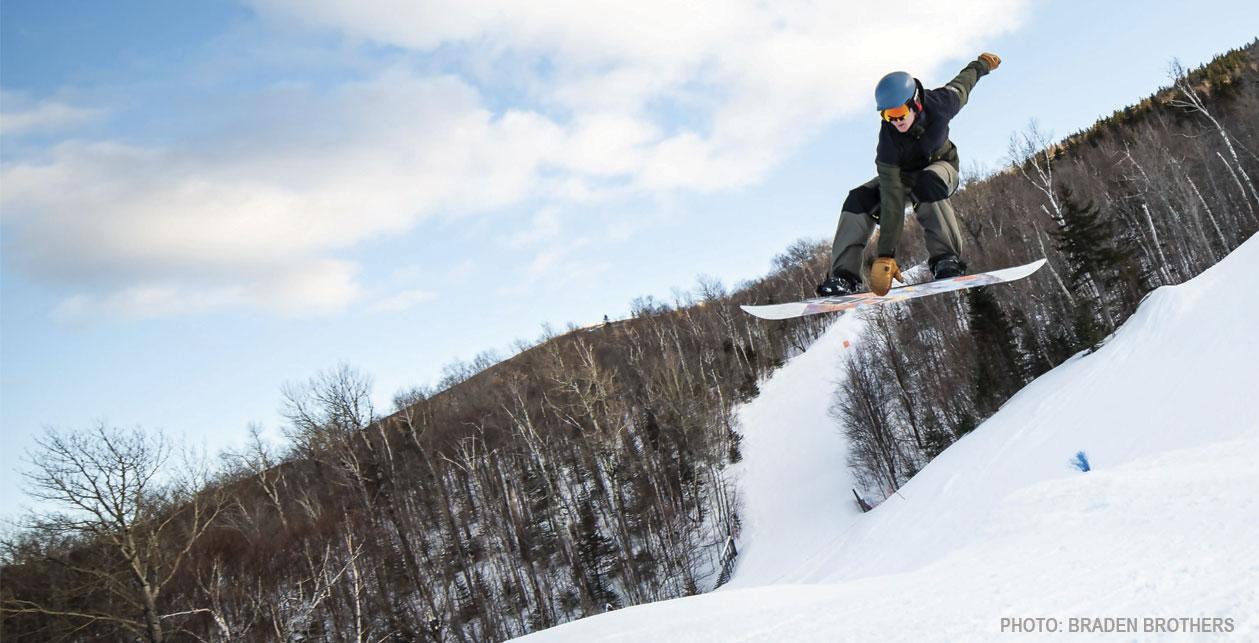 Snow sports at the University of Maine at Farmington