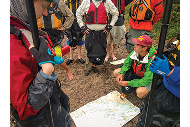 Paddle camping planning